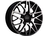 Tenzo TAWCPT1880MC45H Concept-10 18x8 5x100 / 5x114.3 +45mm Offset Wheel - Hyper Black /