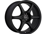 Tenzo TAWD6177010H42B DC-6 Version-1 17X7 Black 5x100 / 5/114.3 Wheel +42mm Offset /
