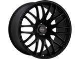 Tenzo Type-M Version 1 17x7 4x100 / 4x114.3 +42mm Offset Wheel - Black /