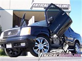 Vertical Doors VDCCADEXT0206 Lambo Vertical Door Kit 2002 2003 2004 2005 2006 Cadillac Escalade EXT /