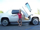 Vertical Doors VDCCADEXT07 Lambo Vertical Door Kit 2007 2008 2009 2010 Cadillac Escalade EXT /