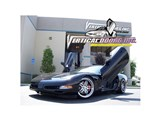 Vertical Doors VDCCHEVYCOR9704 Lambo Doors Vertical Door Kit 1997-2004 Chevrolet Corvette C5 /