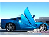 Vertical Doors VDCCHEVYCORC60508 Lambo Vertical Door Kit 2005-2013 Corvette C6 /