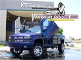 Vertical Doors Inc VDCCHEVYSILVER9906 Lambo Vertical Door Kit 2000-2006 Chevrolet Silverado /