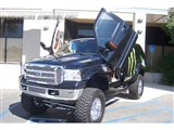 Vertical Doors Inc VDCFEXC0005 Lambo Vertical Door Kit 1999-2006 Ford Excursion /