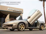 Vertical Doors VDCPONFIRE9802 Lambo Style Vertical Door Kit 1998-2002 Pontiac Firebird /