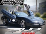 Vertical Doors ZLRC59704 ZLR McLaren Style Vertical Door Kit 1997-2004 Corvette /