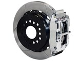 "Wilwood 140-10012-P SL4R Rear 14"" Brake Kit Polished Slotted 2.50 Offset, Ford Big New Style Axle / Wilwood 140-10012-P"