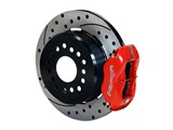 "Wilwood 140-10094-DR Dynalite 12"" Rear Big Brake Kit, Drilled, Red, 1963-1987 GM Trucks / Wilwood 140-10094-DR"