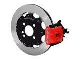 "Wilwood 140-10206-R CPB 11"" Rear Big Brake Kit, Red, 1990-2000 Civic, 1990-2001 Acura / Wilwood 140-10206-R"