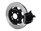 "Wilwood 140-10207 CPB 12"" Rear Big Brake Kit, Slotted, Black, 1990-2001 Acura & 1992-2000 Honda / Wilwood 140-10207"