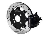 "Wilwood 140-10208-D CPB 11"" Rear Big Brake Kit, Drilled, Black, 1992-2000 Honda Civic / Wilwood 140-10208-D"