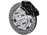 "Wilwood 140-11023-D FDL Pro 11"" Front Brake Kit Drilled Black 1965-72 Dodge Chrysler Plymouth A Body"