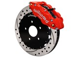 "Wilwood 140-12907-DR Superlite 13"" Front Big Brake Kit Red Drilled 2005-2015 Mazda Miata MX-5"