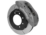 "Wilwood 140-13867-C Front TX6R Clear 16"" Slotted Big Brake Kit 2005-2012 Ford F250/F350 4WD SRW /"