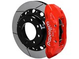 "Wilwood 140-13879-R Rear TX6R Red 16"" Big Brake Kit 1999-2010 GM 2500 Truck/SUV 4.84 Center Bore"