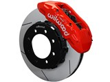 "Wilwood 140-14558-R TX6R Front Red 15"" Slotted Big Brake Kit 2013-2017 Ford F250/F350 4WD SRW /"