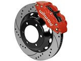 "Wilwood 140-14577-DR Superlite 6R 13"" Front Big Brake Kit, Red, Drilled, 2005-2015 Tacoma 6-Lug /"