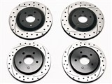 Wilwood 140-9336-D Promatrix Front & Rear 1-Piece Rotor Upgrade Kit 1997-2004 Corvette C5/Z06 /