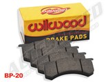 Willwood 150-13773K BP-20 Replacement Brake Pad Set for Wilwood TX6R Calipers, Includes 4 Pads / Wilwood 150-13773K Brake Pads