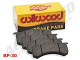 Wilwood 150-14772K BP-30 High-Temperature Racing Brake Pad Set Plate #7416 for Wilwood Big Brake Kit / Wilwood 150-14772K