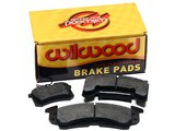 Wilwood 15B-7264K Polymatrix Racing Rear Brake Pad Set - Upgrade for Wilwood Big Brake Kit Only /