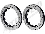 Wilwood SRP Drilled & Slotted Rotor Upgrade - 1 Pair /