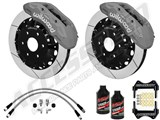 "Wilwood TX6R Front 16"" Brake Kit Clear W/Slotted Rotors, Brake Lines & Fluid 2000-2006 GM 1500 Truck /"