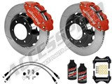 "Wilwood Superlite 6R 14"" Front Big Brake Kit Red Slotted W/Lines & Fluid 2005-2015 Tacoma 6-Lug /"
