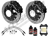 "Wilwood Superlite 6R 14"" Front Big Brake Kit Black Drilled W/Lines & Fluid 2005-2015 Tacoma 6-Lug /"