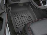 WeatherTech 4413131IM FloorLiner HP Black Front Floor Mats For 2020+ Jeep Gladiator / WeatherTech 4413131IM FloorLiner HP Black Front