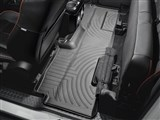 WeatherTech 441792 Black Rear FloorLiner Floor Mats 2009-2014 Ford F-150 SuperCab / WeatherTech 441792 Black Rear FloorLiner