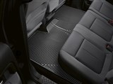 WeatherTech W274 Rear Black Rubber Floor Mats 2009-2014 Ford F-150 SuperCrew / WeatherTech W274 Rear Black Rubber Floor Mats