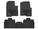 WeatherTech WTFB239139 Front & Rear Black Rubber Floor Mats 2009-2014 Ford F-150 SuperCab 2-Post /