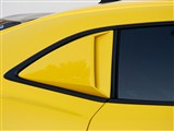 Xenon 12912 Right Quarter Window Scoop With Black Vinyl Insert 2010 2011 2012 2013 Camaro /