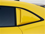 Xenon 12913 Left Quarter Window Scoop With Black Vinyl Insert 2010 2011 2012 2013 Camaro /