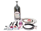 Zex 82030P 4 Cyl. Direct Port Nitrous System (50-200hp), POLISHED BOTTLE /